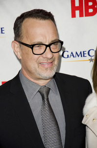 """Game Change"" PremiereTom Hanks3-7-2012 / Ziegfeld Theater / HBO / New York NY / Photo by Eric Reichbaum - Image 24183_0301"