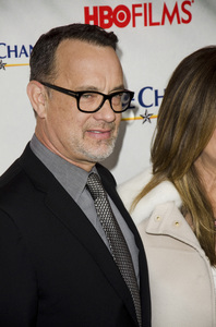 """Game Change"" PremiereTom Hanks3-7-2012 / Ziegfeld Theater / HBO / New York NY / Photo by Eric Reichbaum - Image 24183_0303"