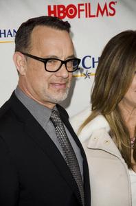 """Game Change"" PremiereTom Hanks3-7-2012 / Ziegfeld Theater / HBO / New York NY / Photo by Eric Reichbaum - Image 24183_0304"