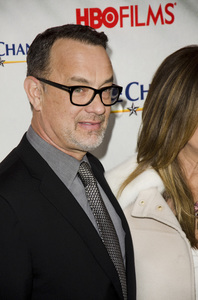 """Game Change"" PremiereTom Hanks3-7-2012 / Ziegfeld Theater / HBO / New York NY / Photo by Eric Reichbaum - Image 24183_0305"