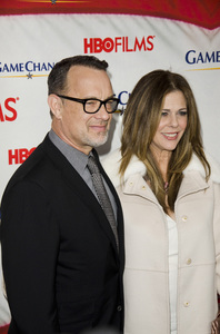 """Game Change"" PremiereTom Hanks, Rita Wilson3-7-2012 / Ziegfeld Theater / HBO / New York NY / Photo by Eric Reichbaum - Image 24183_0307"