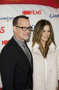 """""""Game Change"""" PremiereTom Hanks, Rita Wilson3-7-2012 / Ziegfeld Theater / HBO / New York NY / Photo by Eric Reichbaum - Image 24183_0308"""