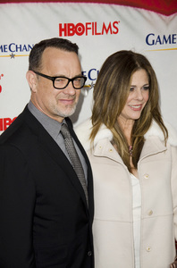 """""""Game Change"""" PremiereTom Hanks, Rita Wilson3-7-2012 / Ziegfeld Theater / HBO / New York NY / Photo by Eric Reichbaum - Image 24183_0309"""