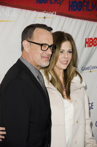"""Game Change"" PremiereTom Hanks, Rita Wilson3-7-2012 / Ziegfeld Theater / HBO / New York NY / Photo by Eric Reichbaum - Image 24183_0310"