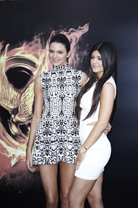 """""""The Hunger Games"""" PremiereKendall, Kylie Jenner3-12-2012 / Nokia Theater LA Live / Lionsgate / Los Angeles CA / Photo by Benny Haddad - Image 24191_0065"""