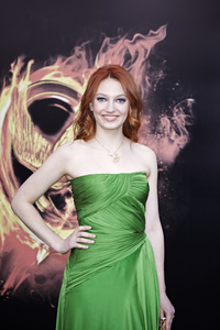 """""""The Hunger Games"""" PremiereJacqueline Emerson3-12-2012 / Nokia Theater LA Live / Lionsgate / Los Angeles CA / Photo by Benny Haddad - Image 24191_0101"""