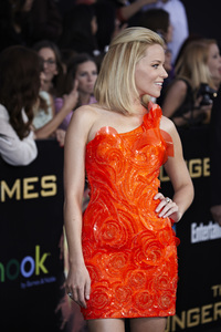 """The Hunger Games"" PremiereElizabeth Banks3-12-2012 / Nokia Theater LA Live / Lionsgate / Los Angeles CA / Photo by Benny Haddad - Image 24191_0131"