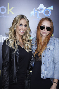 """The Hunger Games"" PremiereTish Cyrus, Brandi Cyrus3-12-2012 / Nokia Theater LA Live / Lionsgate / Los Angeles CA / Photo by Benny Haddad - Image 24191_0134"