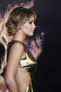 """""""The Hunger Games"""" PremiereJennifer Lawrence3-12-2012 / Nokia Theater LA Live / Lionsgate / Los Angeles CA / Photo by Benny Haddad - Image 24191_0152"""