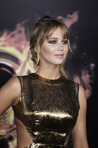 """""""The Hunger Games"""" PremiereJennifer Lawrence3-12-2012 / Nokia Theater LA Live / Lionsgate / Los Angeles CA / Photo by Benny Haddad - Image 24191_0153"""