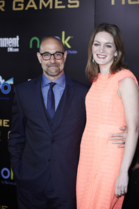 """The Hunger Games"" PremiereStanley Tucci, Felicity Blunt3-12-2012 / Nokia Theater LA Live / Lionsgate / Los Angeles CA / Photo by Benny Haddad - Image 24191_0176"