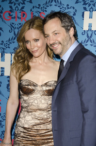 """""""Girls"""" PremiereLeslie Mann, Judd Apatow4-4-2012 / School of Visual Arts / HBO / New York NY / Photo by Eric Reichbaum - Image 24204_0014"""