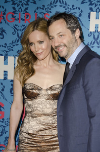"""""""Girls"""" PremiereLeslie Mann, Judd Apatow4-4-2012 / School of Visual Arts / HBO / New York NY / Photo by Eric Reichbaum - Image 24204_0015"""