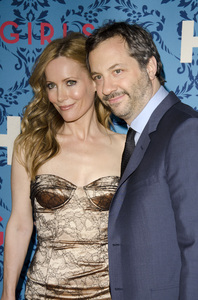 """""""Girls"""" PremiereLeslie Mann, Judd Apatow4-4-2012 / School of Visual Arts / HBO / New York NY / Photo by Eric Reichbaum - Image 24204_0019"""
