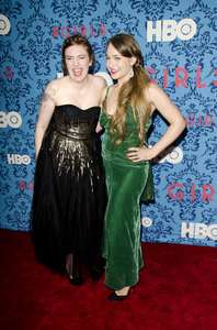 """Girls"" PremiereLena Dunham, Jemima Kirke4-4-2012 / School of Visual Arts / HBO / New York NY / Photo by Eric Reichbaum - Image 24204_0051"