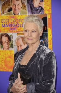 """The Best Exotic Marigold Hotel"" Premiere Judi Dench4-23-2012 / Ziegfeld Theater / Fox Searchlight / New York NY / Photo by Eric Reichbaum - Image 24210_0098"