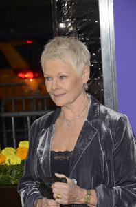 """The Best Exotic Marigold Hotel"" Premiere Judi Dench4-23-2012 / Ziegfeld Theater / Fox Searchlight / New York NY / Photo by Eric Reichbaum - Image 24210_0099"