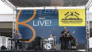 Jeff Lorber performing live at Baldwin Hills Crenshaw Plaza (pre-Playboy jazz concert) 05-27-2012© 2012 Michael Jones - Image 24222_0002