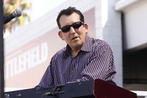Jeff Lorber performing live at Baldwin Hills Crenshaw Plaza (pre-Playboy jazz concert) 05-27-2012© 2012 Michael Jones - Image 24222_0016