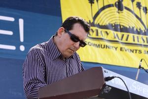 Jeff Lorber performing live at Baldwin Hills Crenshaw Plaza (pre-Playboy jazz concert) 05-27-2012© 2012 Michael Jones - Image 24222_0017
