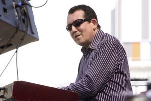 Jeff Lorber performing live at Baldwin Hills Crenshaw Plaza (pre-Playboy jazz concert) 05-27-2012© 2012 Michael Jones - Image 24222_0018