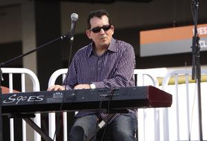 Jeff Lorber performing live at Baldwin Hills Crenshaw Plaza (pre-Playboy jazz concert) 05-27-2012© 2012 Michael Jones - Image 24222_0023