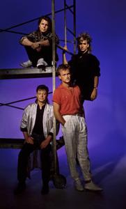 Mr. Mister (Richard Page, Steve George, Pat Mastelotto, Steve Farris)circa 1980s© 1980 Phil Fewsmith - Image 24227_0001