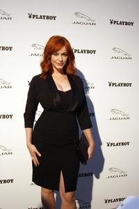 """Jaguar and Playboy Magazine VIP Reception""Christina Hendricks08-17-2012 / Pebble Beach, California© 2012 Ron Avery - Image 24248_0004"