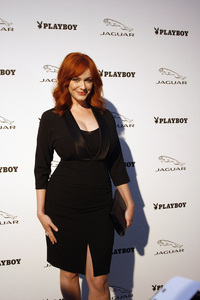 """Jaguar and Playboy Magazine VIP Reception""Christina Hendricks08-17-2012 / Pebble Beach, California© 2012 Ron Avery - Image 24248_0005"