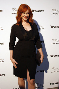 """Jaguar and Playboy Magazine VIP Reception""Christina Hendricks08-17-2012 / Pebble Beach, California© 2012 Ron Avery - Image 24248_0006"
