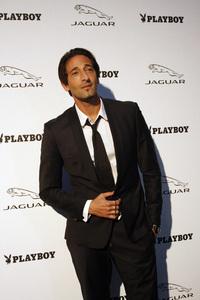 """Jaguar and Playboy Magazine VIP Reception""Adrien Brody 08-17-2012 / Pebble Beach, California© 2012 Ron Avery - Image 24248_0015"