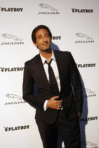"""Jaguar and Playboy Magazine VIP Reception""Adrien Brody 08-17-2012 / Pebble Beach, California© 2012 Ron Avery - Image 24248_0016"