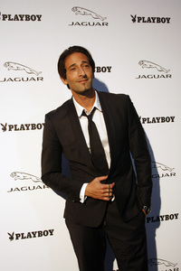 """Jaguar and Playboy Magazine VIP Reception""Adrien Brody 08-17-2012 / Pebble Beach, California© 2012 Ron Avery - Image 24248_0016"