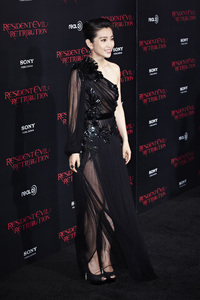 """Resident Evil: Retribution"" Premiere Bingbing Li9-12-2012 / Regal Cinemas L.A. Live / Screen Gems / Los Angeles CA / Photo by Benny Haddad - Image 24252_0034"