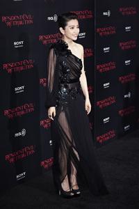 """Resident Evil: Retribution"" Premiere Bingbing Li9-12-2012 / Regal Cinemas L.A. Live / Screen Gems / Los Angeles CA / Photo by Benny Haddad - Image 24252_0034"