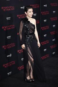 """Resident Evil: Retribution"" Premiere Bingbing Li9-12-2012 / Regal Cinemas L.A. Live / Screen Gems / Los Angeles CA / Photo by Benny Haddad - Image 24252_0035"