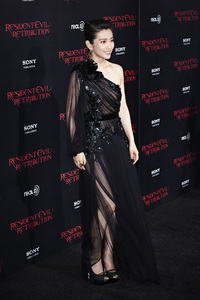 """Resident Evil: Retribution"" Premiere Bingbing Li9-12-2012 / Regal Cinemas L.A. Live / Screen Gems / Los Angeles CA / Photo by Benny Haddad - Image 24252_0035"