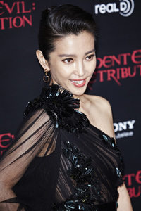 """Resident Evil: Retribution"" Premiere Bingbing Li9-12-2012 / Regal Cinemas L.A. Live / Screen Gems / Los Angeles CA / Photo by Benny Haddad - Image 24252_0037"