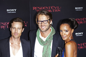 """Resident Evil: Retribution"" Premiere Johann Urb9-12-2012 / Regal Cinemas L.A. Live / Screen Gems / Los Angeles CA / Photo by Benny Haddad - Image 24252_0045"