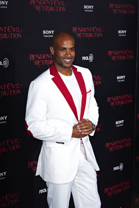 """Resident Evil: Retribution"" Premiere Boris Kodjoe9-12-2012 / Regal Cinemas L.A. Live / Screen Gems / Los Angeles CA / Photo by Benny Haddad - Image 24252_0052"