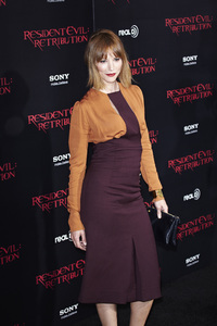 """Resident Evil: Retribution"" Premiere Sienna Guillory9-12-2012 / Regal Cinemas L.A. Live / Screen Gems / Los Angeles CA / Photo by Benny Haddad - Image 24252_0073"