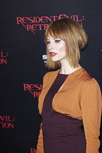 """Resident Evil: Retribution"" Premiere Sienna Guillory9-12-2012 / Regal Cinemas L.A. Live / Screen Gems / Los Angeles CA / Photo by Benny Haddad - Image 24252_0075"