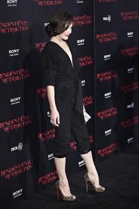 """Resident Evil: Retribution"" Premiere Milla Jovovich9-12-2012 / Regal Cinemas L.A. Live / Screen Gems / Los Angeles CA / Photo by Benny Haddad - Image 24252_0086"