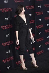 """Resident Evil: Retribution"" Premiere Milla Jovovich9-12-2012 / Regal Cinemas L.A. Live / Screen Gems / Los Angeles CA / Photo by Benny Haddad - Image 24252_0088"
