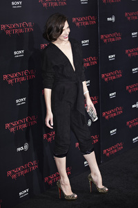 """Resident Evil: Retribution"" Premiere Milla Jovovich9-12-2012 / Regal Cinemas L.A. Live / Screen Gems / Los Angeles CA / Photo by Benny Haddad - Image 24252_0088"