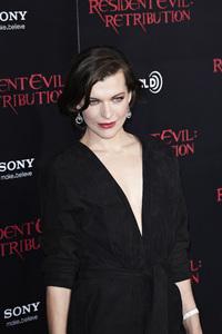 """Resident Evil: Retribution"" Premiere Milla Jovovich9-12-2012 / Regal Cinemas L.A. Live / Screen Gems / Los Angeles CA / Photo by Benny Haddad - Image 24252_0090"