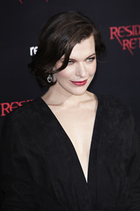 """Resident Evil: Retribution"" Premiere Milla Jovovich9-12-2012 / Regal Cinemas L.A. Live / Screen Gems / Los Angeles CA / Photo by Benny Haddad - Image 24252_0091"
