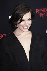 """Resident Evil: Retribution"" Premiere Milla Jovovich9-12-2012 / Regal Cinemas L.A. Live / Screen Gems / Los Angeles CA / Photo by Benny Haddad - Image 24252_0092"