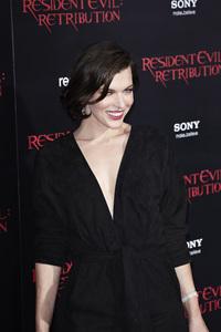 """Resident Evil: Retribution"" Premiere Milla Jovovich9-12-2012 / Regal Cinemas L.A. Live / Screen Gems / Los Angeles CA / Photo by Benny Haddad - Image 24252_0093"