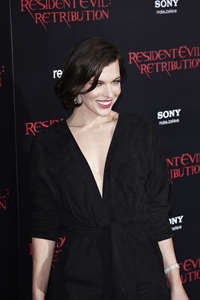 """Resident Evil: Retribution"" Premiere Milla Jovovich9-12-2012 / Regal Cinemas L.A. Live / Screen Gems / Los Angeles CA / Photo by Benny Haddad - Image 24252_0093"